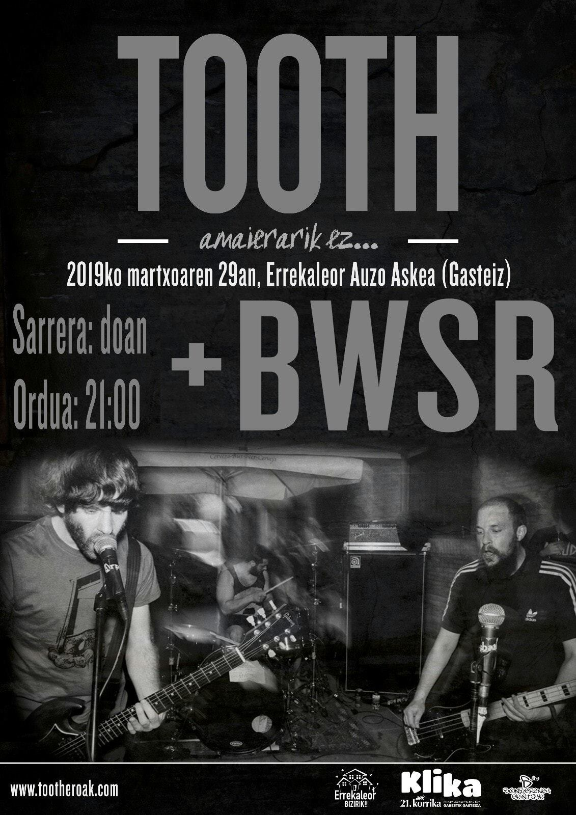 TOOTH BWSR